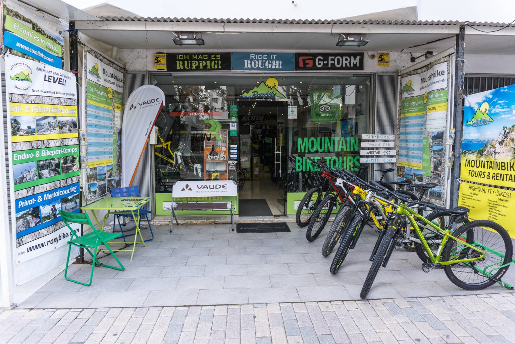 Contact the Bike Station CaMi-Bike in Cala Millor