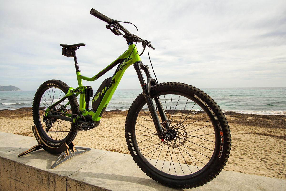 Merida eOne-Sixty top notch Hybrid E-Bike MTB Rental in Mallorca