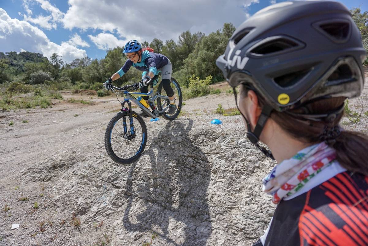 Mountain Bike Skills Clinics and MTB Coaching with certified instructors